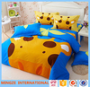 Embroidery comforter baby bedding set