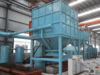 15 t/h foundry furan and phenol resin sand reclamation line for medium products