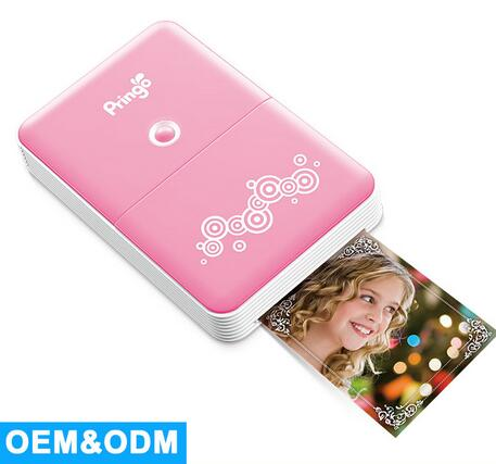 Pink HiTi Pringo P231 Portable Mini Digital Pocket Photo <strong>Printer</strong> With WiFi