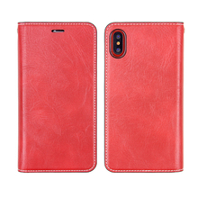 2017 new shenzhen flip case leather cell phone cover for iphone 8