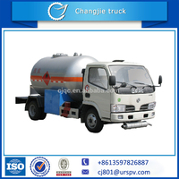 4*2 propane gas storage tank Mini Small size customized capacity lpg valve Lpg Tank Truck