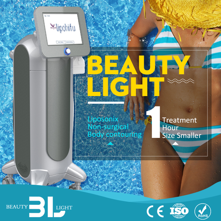 Handpiece is easy to disassemble 10 inch colorful touch screen body massage slimming machine vibration verticle slimming machine