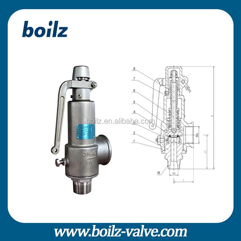 Alibaba China Supplier Boiler Safety Valves Gas Safety Device