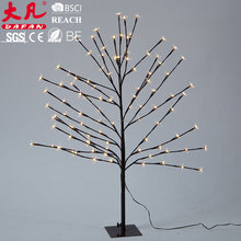led warm white decorative tree branch lights/led christmas tree branch