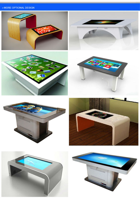 42 Inch LCD IR Multi Points Interactive Multi Table With Touch Screen