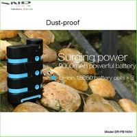 9000mah Portable Mobile Phone Waterproof Outdoor Powerbank For Cellphone