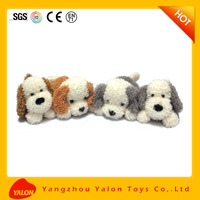 Cheap stuffed Kids plush private label dog toys