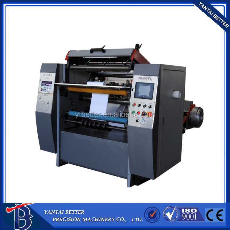 High quality Intelligent high-speed atm paper slitting machine / paper cutting machine