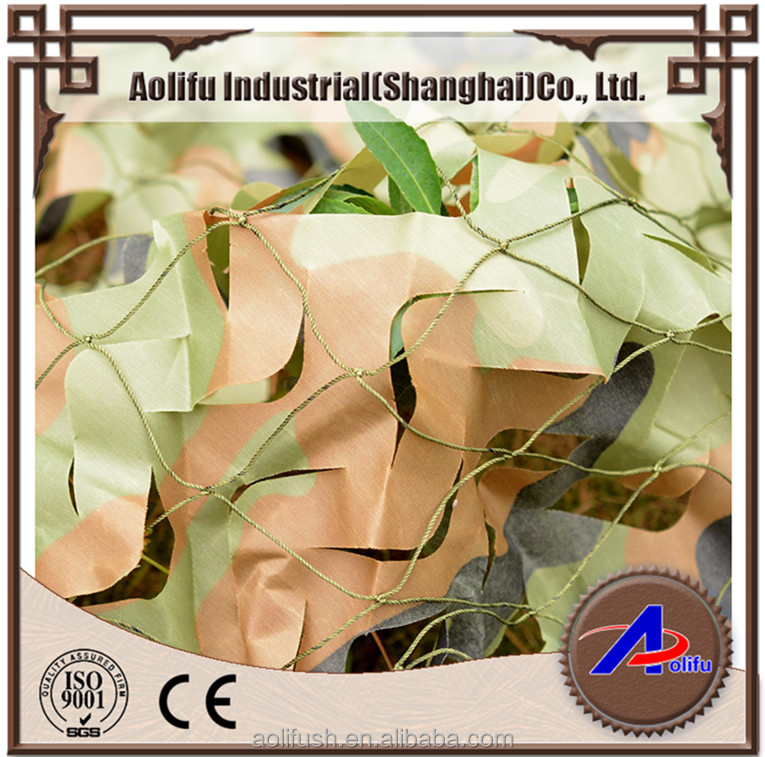 new style Desert or sand color camouflage net, shade net Aolifu n1050