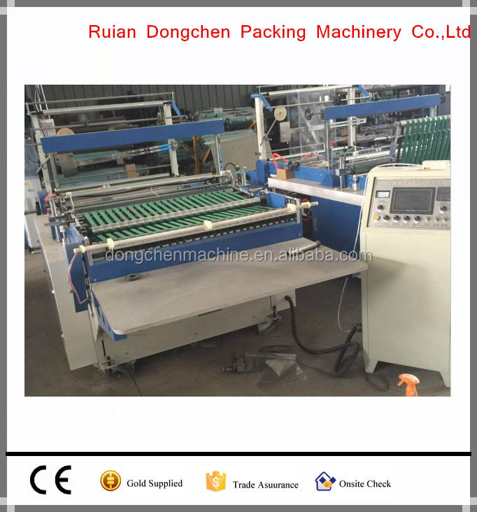 DHL plastic self-adhesive mail bag aking machine