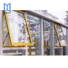 Wholesale high quality bottom price customized Awning Swing And Hinged Double Hung Windows
