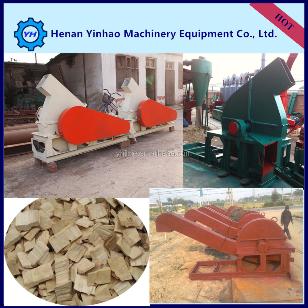YIN HAO Golden Factory supply mdf board chipper machine/wood chipping machine/industrial wood shredders chipper