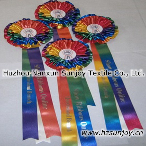 Fabric Medal Ribbon For Successful Man