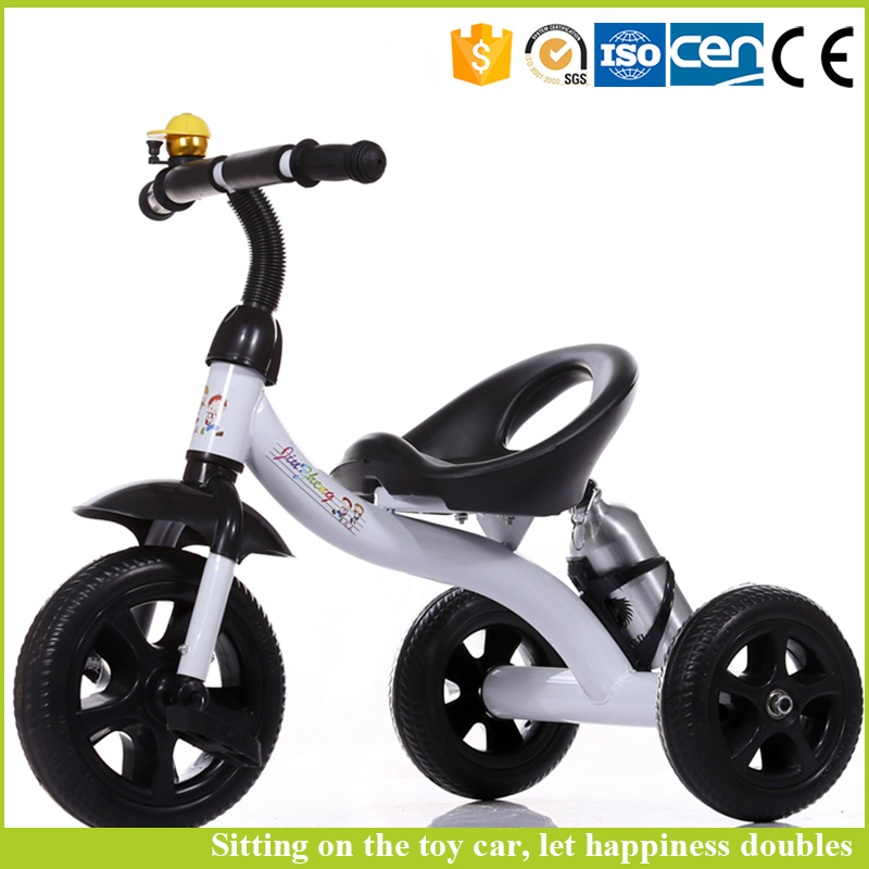 China toy factory baby tricycle new models cheap baby twins tricycle with kettle
