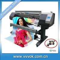 Automatic double four color 1.9M computer sticker cutting printer