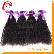 Wholesale saga remy hair raw unprocessed virgin curly hair extension