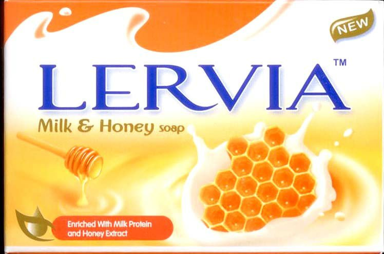 LERVIA Milk & Honey Soap