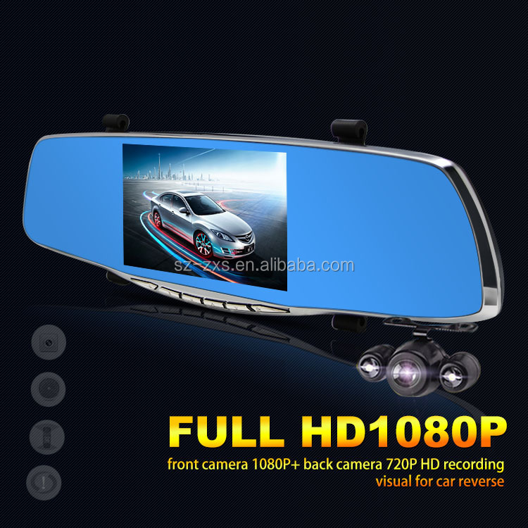 Zhixingsheng Professional new hot unique gift rearview mirror dvr car ZXS-X10