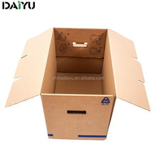 corrugated cardboard OEM recyclable moving box storage box shipping box with ISO9001