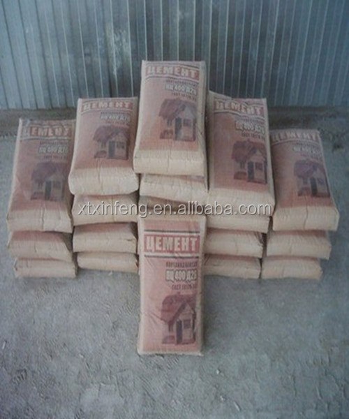 export Japanese cement packing brown kraft liner paper bag