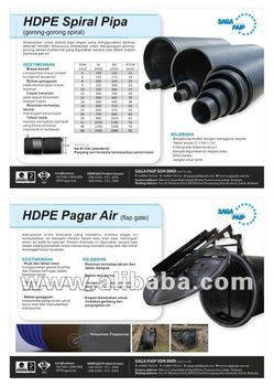 HDPE Spiral Culvert for Palm Oil Plantation