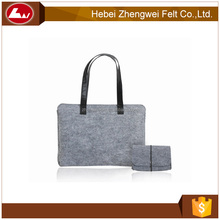 high quality low price felt backpack bag laptop