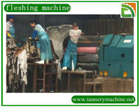 machines second hand for leather fleshing for sheep skin