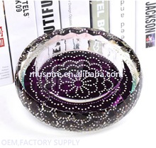 Top quality new import crystal ash tray