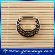 Pop half-moon-shaped nose ring design attractive design jewelry of the nose ring O 39