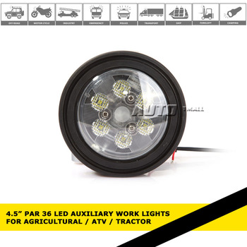 high power led auto light off road led working lights farm led work light 18w for tractor Truck farming mining