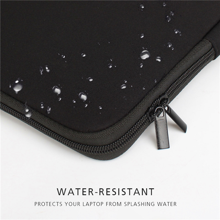 Eco Friendly Waterproof Neoprene Custom Design Black Laptop Bag