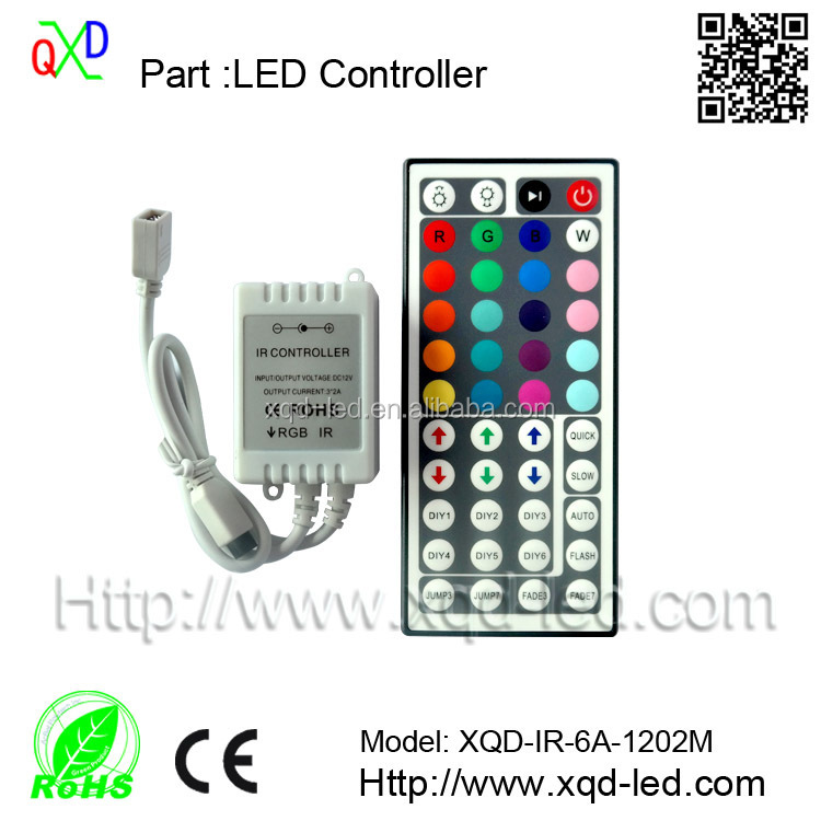 24 key led rgb strip sound ir musical controller