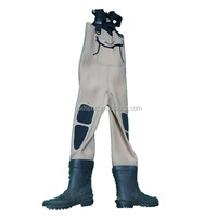 Hot sales Custom breathable Neoprene waterproof Fishing Wader with felt boots