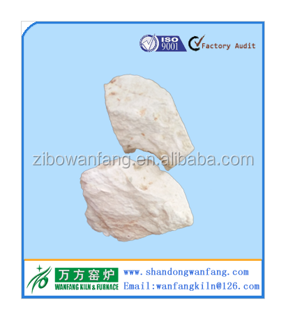 ZIBO China Calcined Flint Clay 45% Al2O3