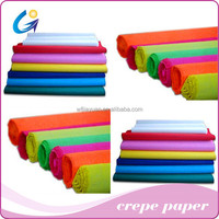 Bright-coloured Crepe Paper for Wrapping Flowers