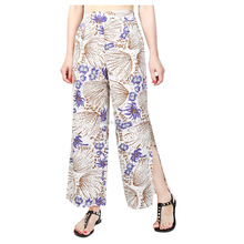 K1980A Womens Thai Polyster Wrap Pants/Sarong Palazzo Harem Yoga Hippie Wide Leg Trousers