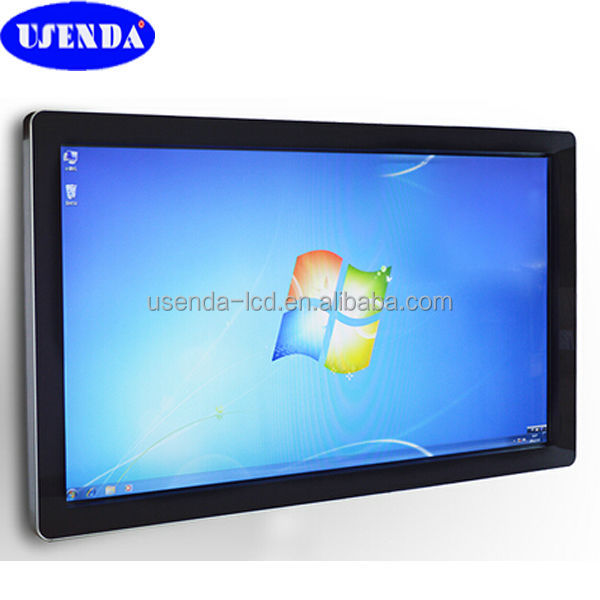 26 32 42 46 55 inch wall mount touch screen computer lcd all in one pc touch screen monitor