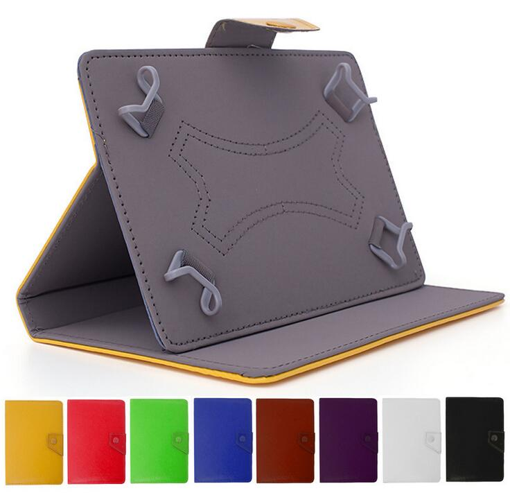For 7inch 8inch 9inch 10inch universal tablet bookcase style PU flip leather cover cases