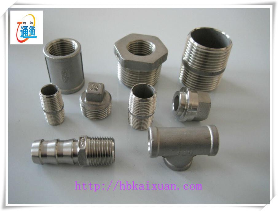 Stainless steel cf m y type strainer female screwed end