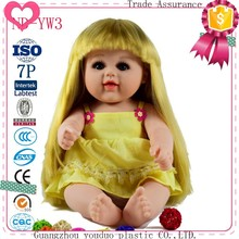 Beautiful 19 Inch Soft Arms And Legs Girl Doll