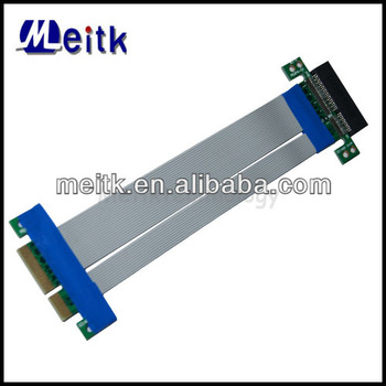 PCI-E 4X PCI Express Riser Card Flexible Ribbon Flex Cable