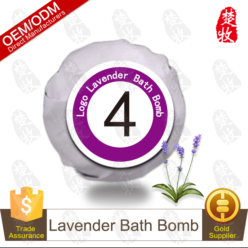Billiards Collection-No.4 Organic Lavender Bath Bomb OEM Professional Supplier