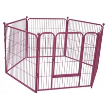 Dog kennel outdoor pet play pen heavy duty metal exercise dog fence