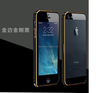 2014 New Arrive Ultra Thin Slim Aluminium Metal Bumper Frame Cover Case for iPhone 5 5S Freeshipping&Wholesale