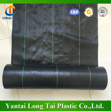 Black color weed mat roll /ground cover/ weed control fabric mat with UV treatment