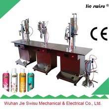 best quality Semi-Automatic aerosol filling machine for perfume atomizer spray pen
