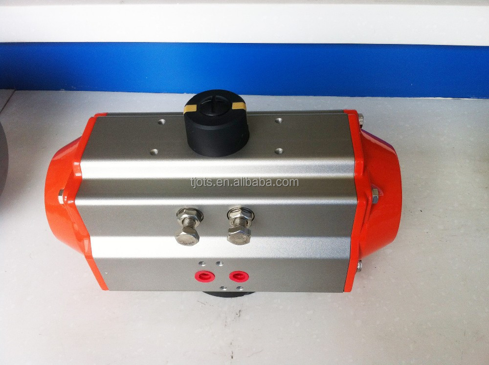 double acting pneumatic actuator for butterfly valve