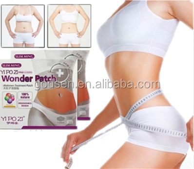 Korean belly wing slimming wonder patch,belly slimming patch