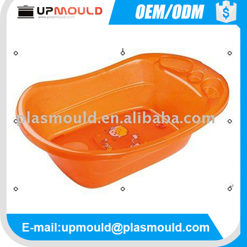 Plastic bathtub mould for baby using