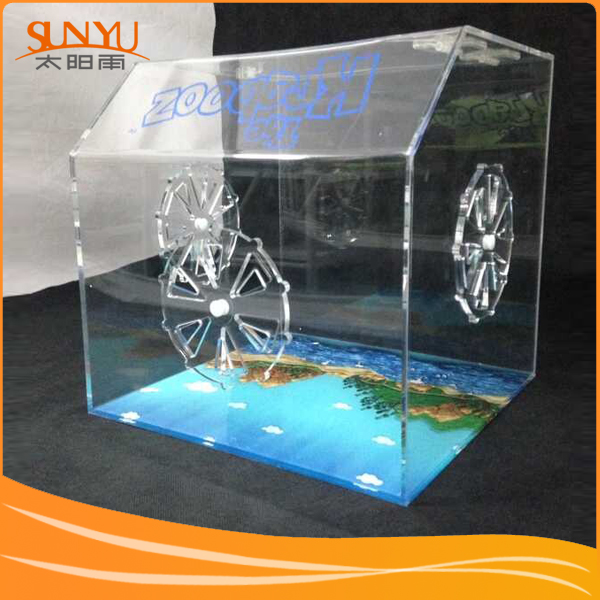 Luxury Small Animal Acrylic Hamsters Cage And Hamster Accessories